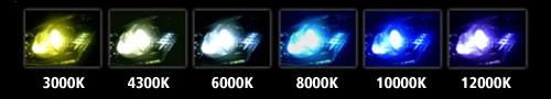 *****6000k is the  most popular(diamond white)*****